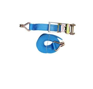 1 x 75mm x 12 metre RATCHET LASHING STRAPS MBL 10T Tie Down Claw Hook trailer